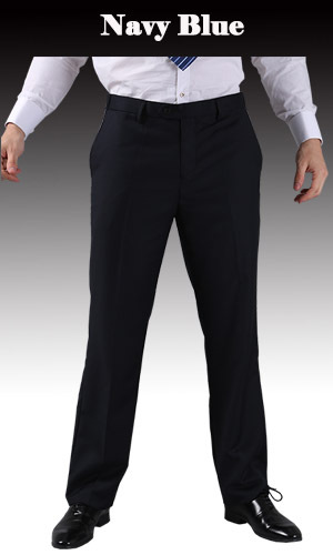 Тонкие брюки мужской формальный деловой Slim Fit Свадебный костюм брюки Diamond синий цвет красного вина черные брюки Размеры 44 плюс Размеры A37 - Цвет: Navy Blue