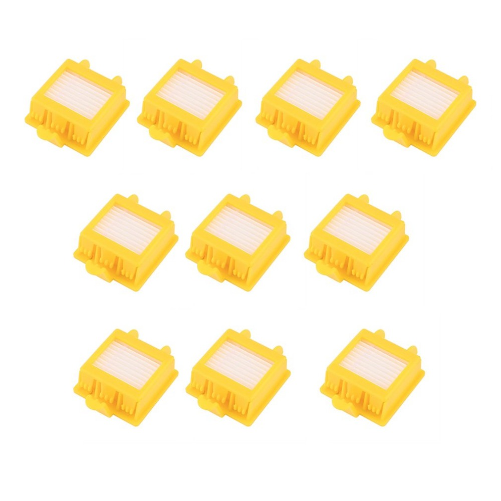 2018 New 10Pcs Sweeping Robot Vacuum Cleaner Accessories Filter Replacement For IRobot Roomba 700 Series 760 770 780 Model bristle brush flexible beater brush fit for irobot roomba 500 600 700 series 550 650 660 760 770 780 790 vacuum cleaner parts