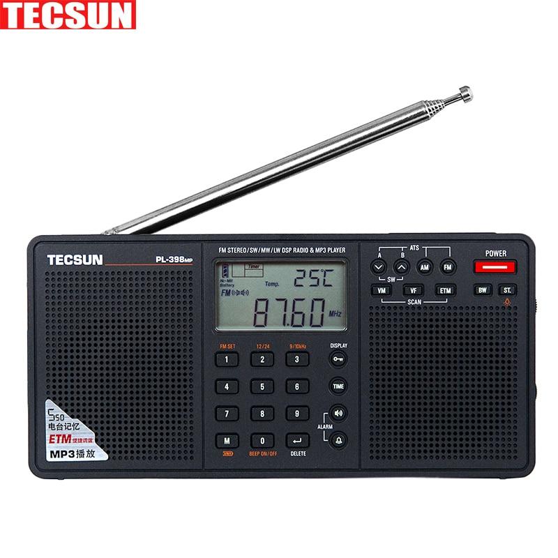 Original Tecsun Pl 398mp Portable Radio Fm Stereo Has Mp3 Playback Rhaliexpress: Sd Card Radio At Gmaili.net