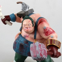 Verbazingwekkende Dota 2 Game Pudge Karakter Butcher PVC Actiefiguren Collection dota2 Speelgoed