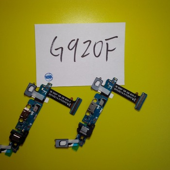 Wyieno 20Pcs/Lot For Samsung S6 G920f Charger Port Flex Cable Phone Repair Parts + tracking