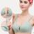 Botón de enfermería sujetador suave bordes juntos antes de evitar la flacidez sujetador ropa interior de mujer embarazada de algodón de verano yardas grandes de la lactancia