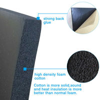 10mm 오디오 스테레오 사운드 음향 소음 흡수 댐핑 매트 50*80cm