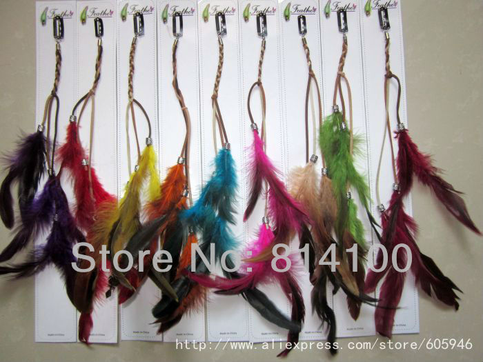 Buy Brand New New Style Fashion Feather Clip Hair Extension Party Headwear