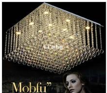 Современные k9 кристалл Потолочные светильники для Гостиная Luminaria Teto cristal потолочный светильник домашнего декора потолочный светильник 100% подлинные часы