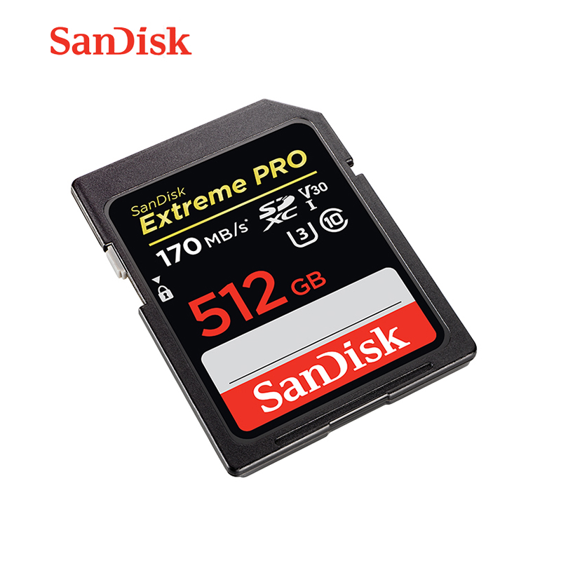Sandisk Extreme Pro Sdhc Sdxc Uhs-i Card 512GB 256GB 128GB 64GB SD Memory Card Flash Cards For Camera Business High Speed Card