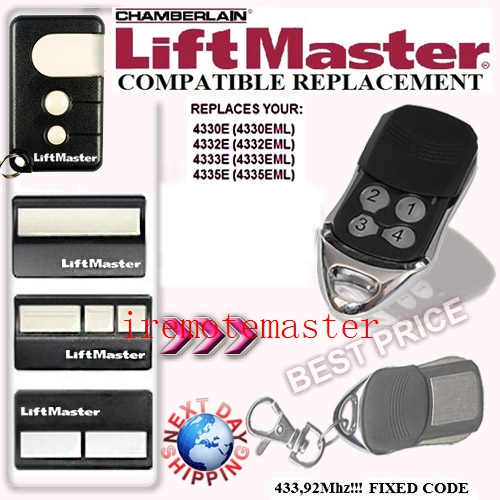 new arrival ,liftmaster replaceremote ,433.92MHZ, top quality with favorable price ,factory supply directly free shipping tilt a matic remote duplicator top quality with low price factory supply directly
