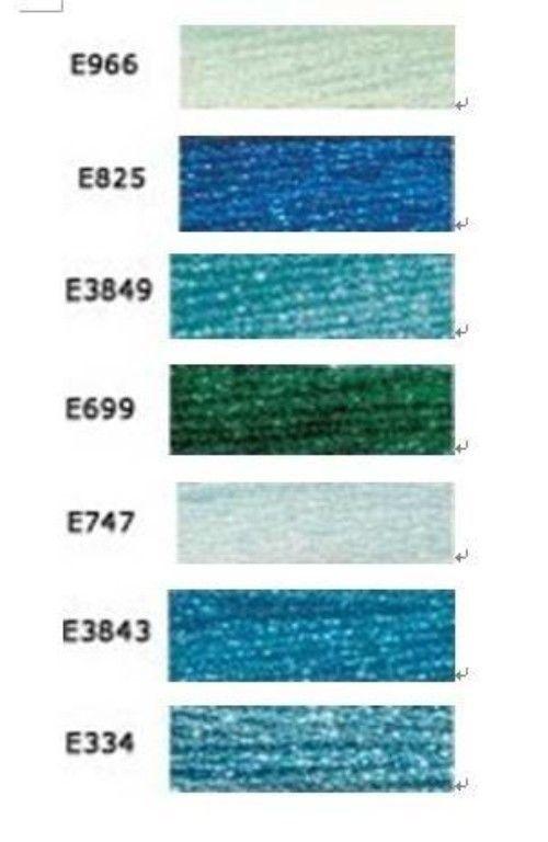 8.7-Yard Pink Amethyst by DMC DMC 317W-E316 Light Effects Polyster Embroidery Floss