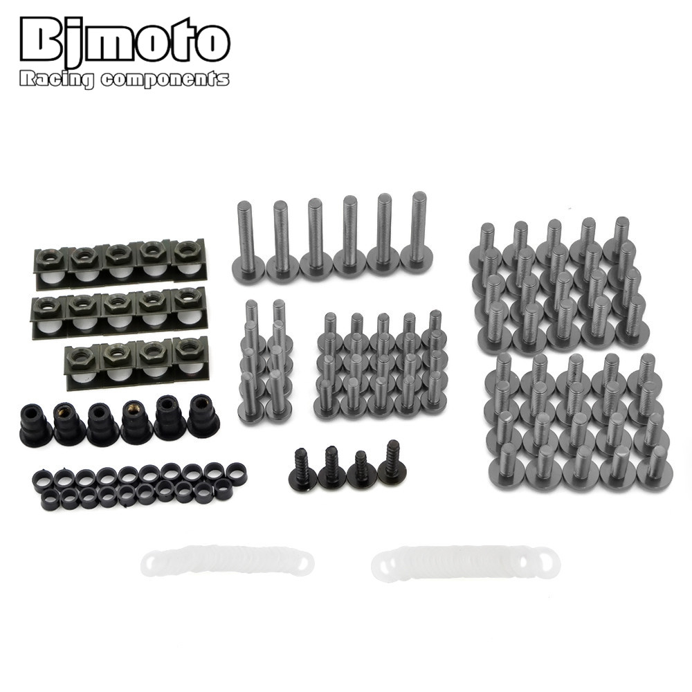 Screws-2007-TI Complete Fairing Bolt nut screw Kit For HONDA CBR600RR CBR 600 RR 2003-2006  fairing bolt screws