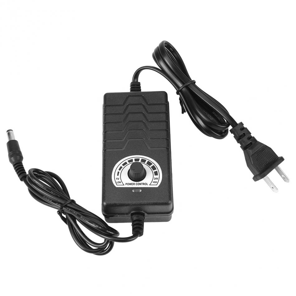 Universal Motor Speed Controller Motor Drives & Controls AC/DC Power Supply Adapter 1-24V 2A For Motor Speed Controller