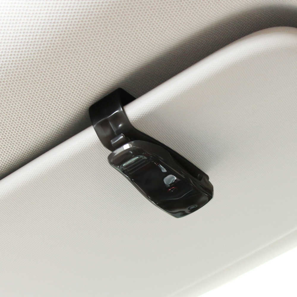Mobil Klip Kacamata Mobil Sun Visor Kacamata Pemegang untuk Renault Megane 2 3 Duster Logan Clio Laguna 2 Captur Interior aksesoris