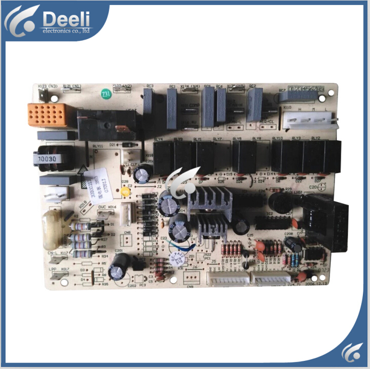 ФОТО 95% new good working for Gree air conditioner air conditioning nobility computer board 3453 motherboard 30000313 GR3X-B