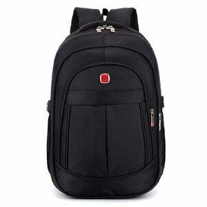Image 2 - Mochila masculina sacos de viagem masculino multifuncional 15.6 polegada portátil à prova doxford água oxford computador mochilas para adolescente menino
