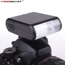 Universal Mini LED Camera Flash Speedlite Flashlight For Canon For Nikon For Pentax For Olympus For Sony A7II A6000 A6300 DSLR