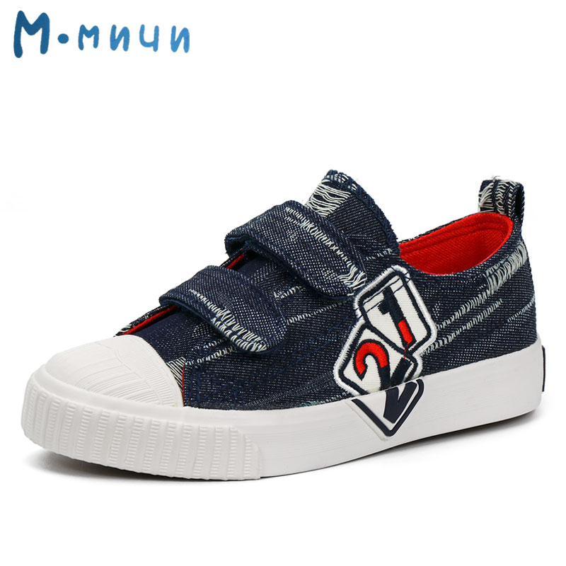 MMNUN size 26-31 Boys Shoes Children Shoes Kids Shoes Sport Shoes for Boys Casual Canvas Child Sneakers Children Footwear ML1806