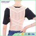 Free shipping Unisex Adjustable Back Posture Corrector Brace Back Shoulder Support Belt Posture Correction Belt for Men Women