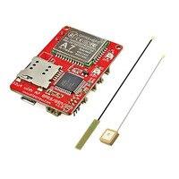 Elecrow Mega32U4 A7 GSM GPRS GPS Modülü ile 3 In 1 geliştirme Kurulu GPRS GPS Kablosuz IOT Projeleri 3.7 V Entegre Devreler a7