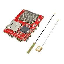 Elecrow Mega32U4 с A7 GSM GPRS GPS Модуль Новый Совет По Развитию интегральных Микросхем a7 GPS GSM 3 В 1 Щит DIY Kit