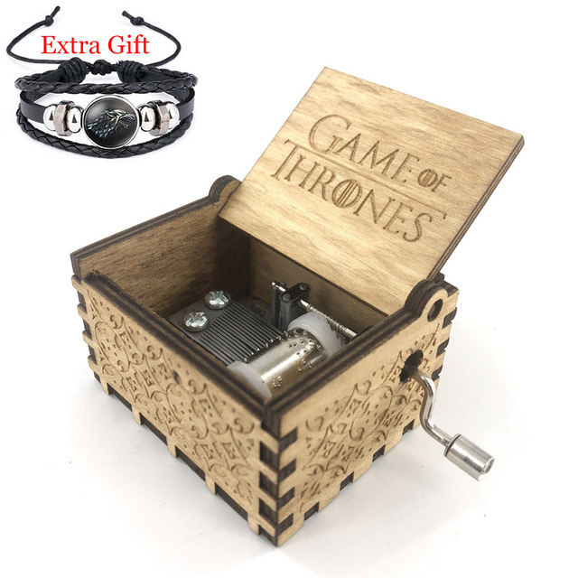 Anonymity Hand Kurbel Game Of Thrones Musik Box Fur Weihnachten Tag