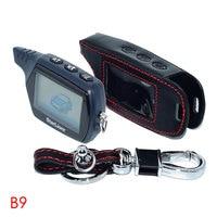 B9 LCD Remote Controller For Russia Version Starline B9 Twage 2 Way Car Alarm System FM