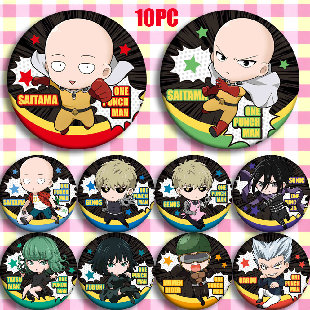 Japanese Anime GIVEN Badge Cartoon Button Pin Bedge Cosplay Gift 58MM 12pcs
