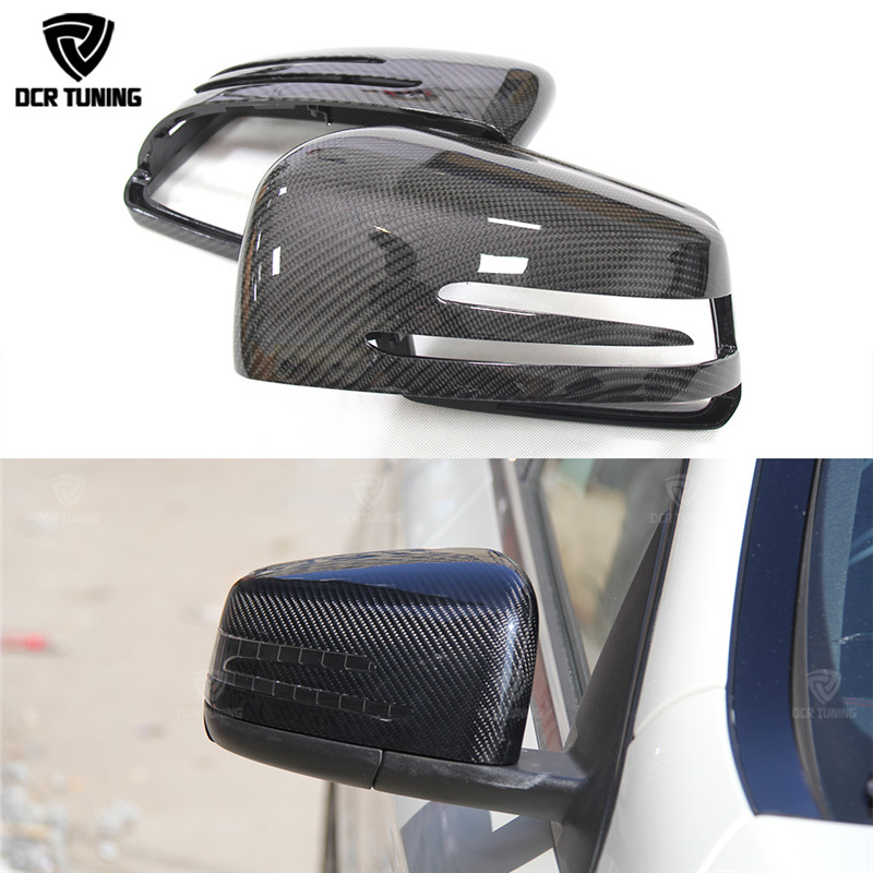 For Mercedes Mirror W204 W212 W207 W176 W218 Carbon Mirror for Mercedes A B C E S CLS GLK CLS Class Carbon Mirror Replacement