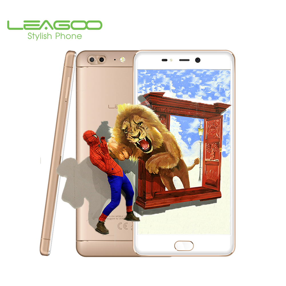 Leagoo T5 Smartphone MT6720T Octa Core 1.5GHz 64G ROM 4G RAM Android 7.0 Dual Rear Camera 13MP+5MP Mobile Phones 3000mAh 4G LTE