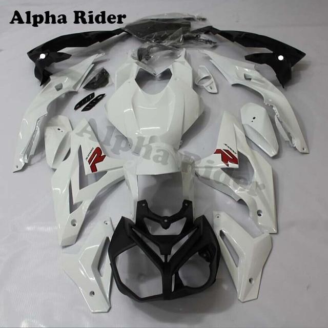 For Bmw S1000r 2016 Motorcycle Bodywork Fairing Fairings Injection Molded Uv Light S 1000 R 1000r White Good Quality