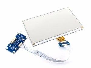 Image 2 - 7.5 inç kağıt şapka (C) 640x384 e mürekkep ekran modülü üç renkli SPI arayüzü ahududu Pi ile uyumlu 3B/3B +/sıfır/sıfır W