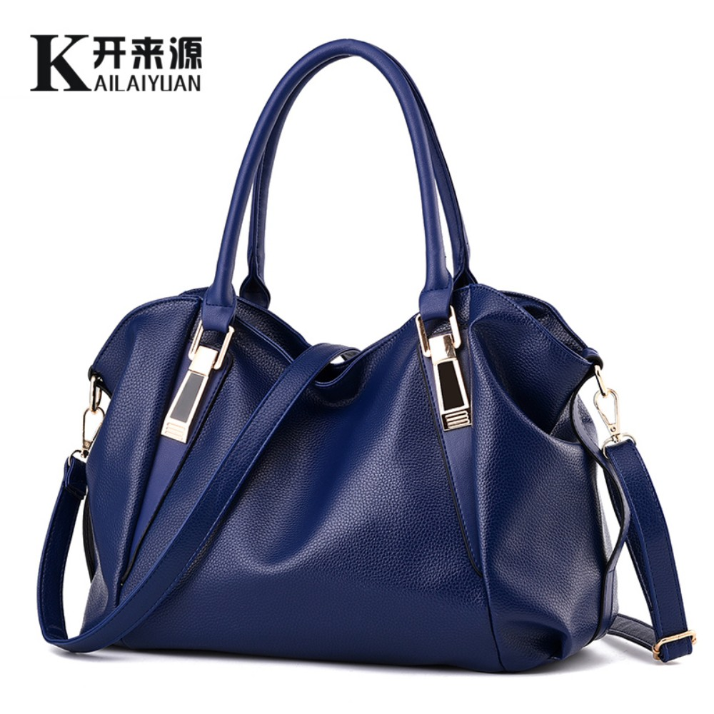 KLY100% Genuine leather Women handbag 2017 New Classic casual fashion female Crossbody  hand bag of bill of lading messenger bag
