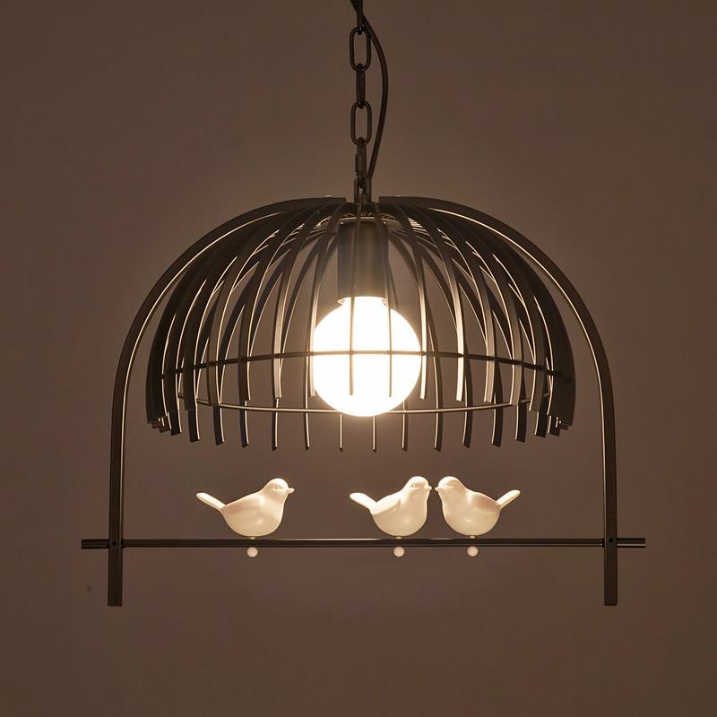 Fashion birds pendant lamp loft light living room bedroom dining room kitchen restaurant study cafe light chandelier droplight