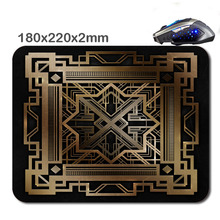 HOT SALES Custom Antiskid 3 D Great Gatsby Poster Design Mouse Pad  220X180x2mm Office Accessory Tablet  And Gift