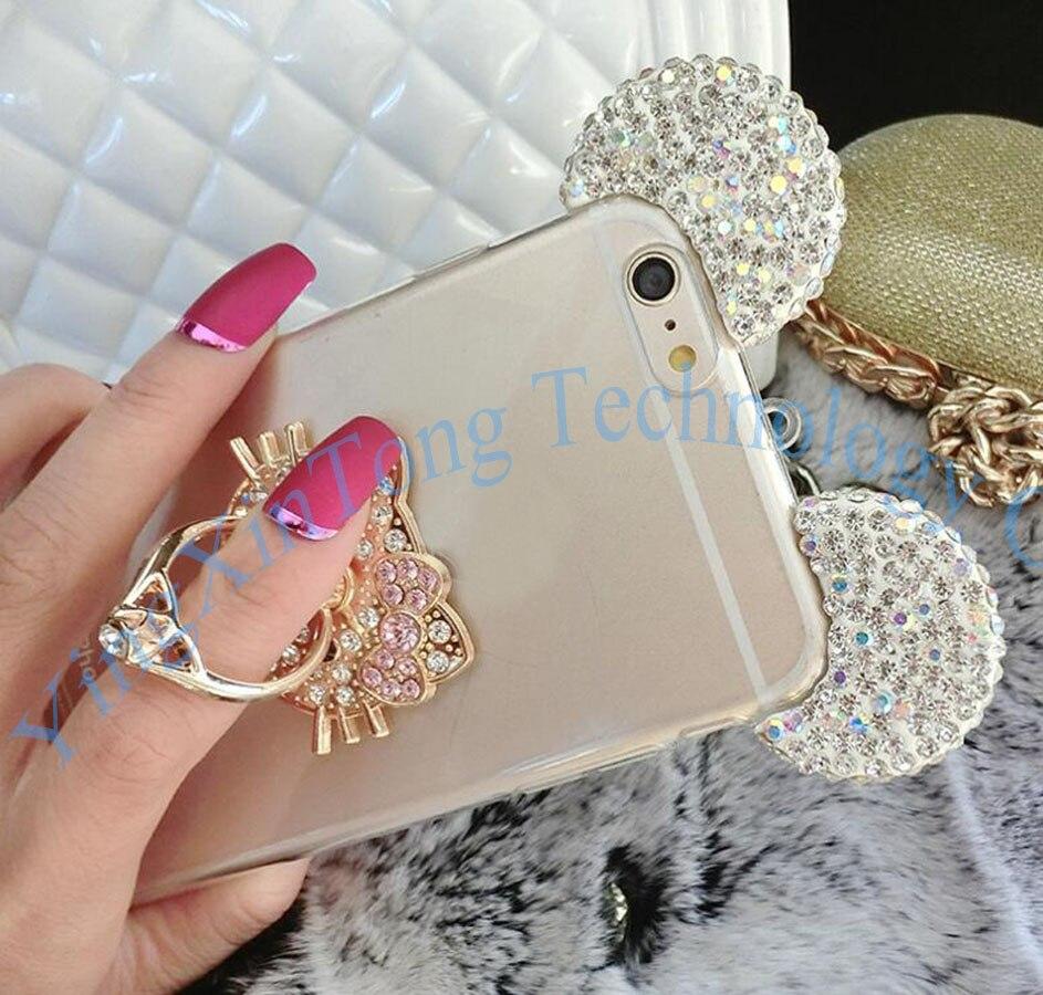 HTB16h6mQXXXXXXoXXXXq6xXFXXXe - Luxury Crystal Mirror Glitter Rhinestone Mickey Ears Phone Cases PTC 179