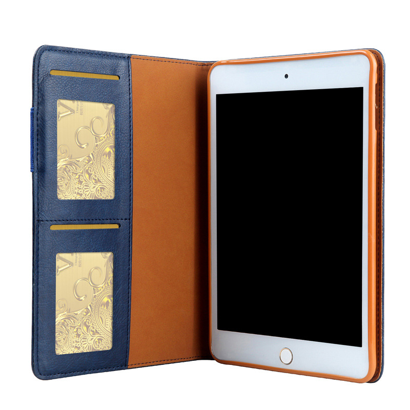 Leather Case For Ipad A1822 9.7 2017 Tablet Cover 9.7 Inches A1822 Flip Folio Stand Cover Shockproof With Card Slot YNMIWEI