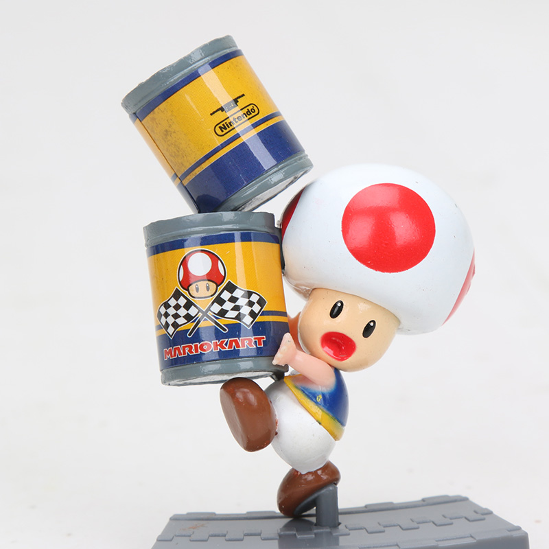 US $22 28 20% OFF|11pcs/set Super Mario Bros Figure Mario Kart 7 Big Figure  Collection Koopa Mairo Luigi Princess Yoshi Model Figures Toy 6 8cm-in
