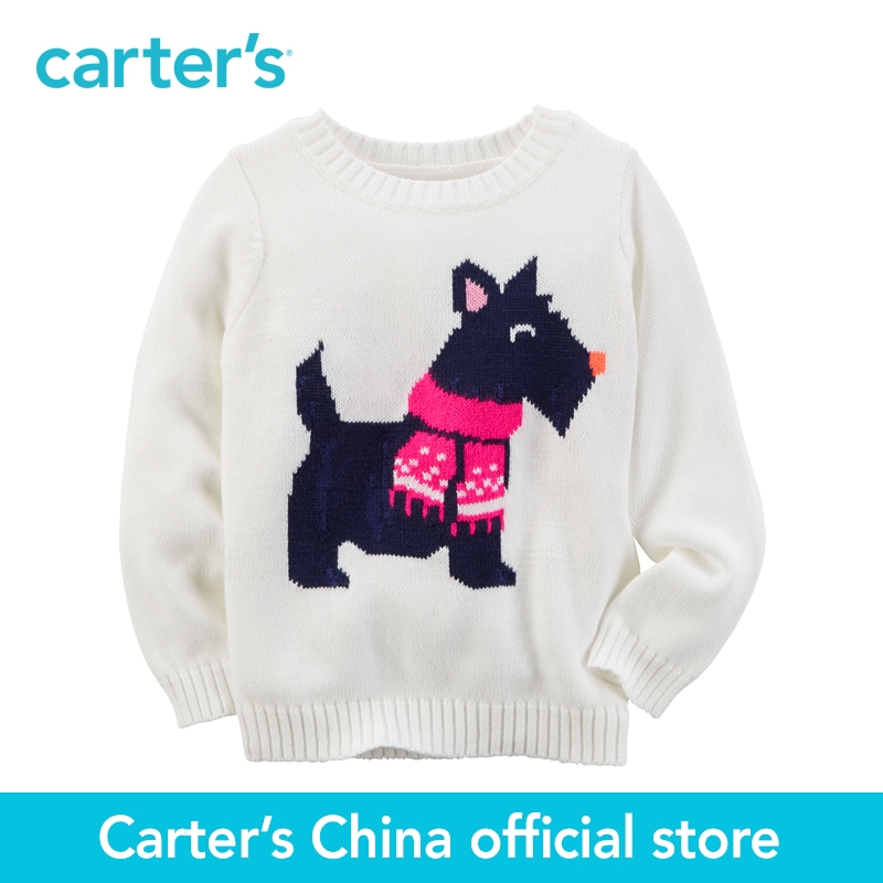 Carter s 1pcs baby children kids Fox Sweater 235G446 sold by Carter s China official store