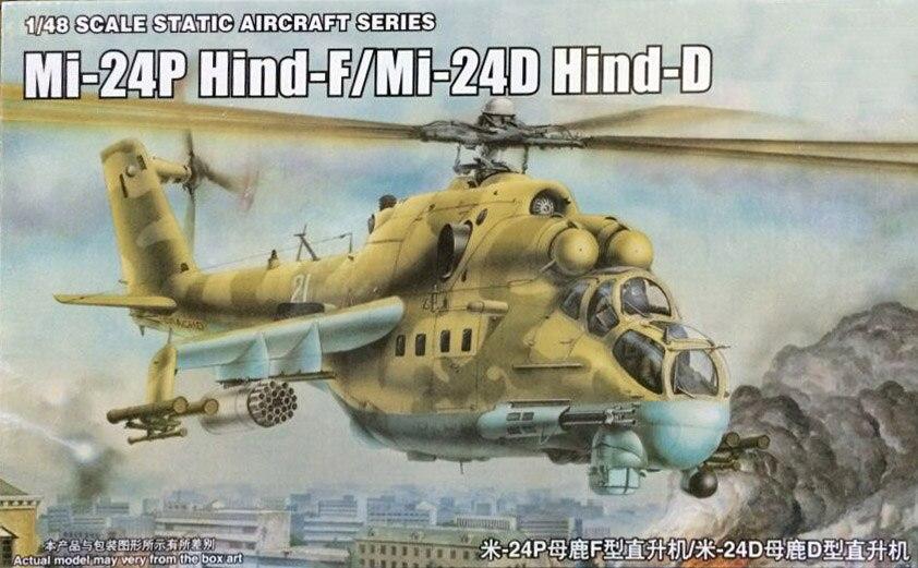 1:48 russland MI 24P HIND F/MI 240 HIND D Hubschrauber Militärischen Montiert Flugzeug Modell-in Modellbau-Kits aus Spielzeug und Hobbys bei AliExpress - 11.11_Doppel-11Tag der Singles 1