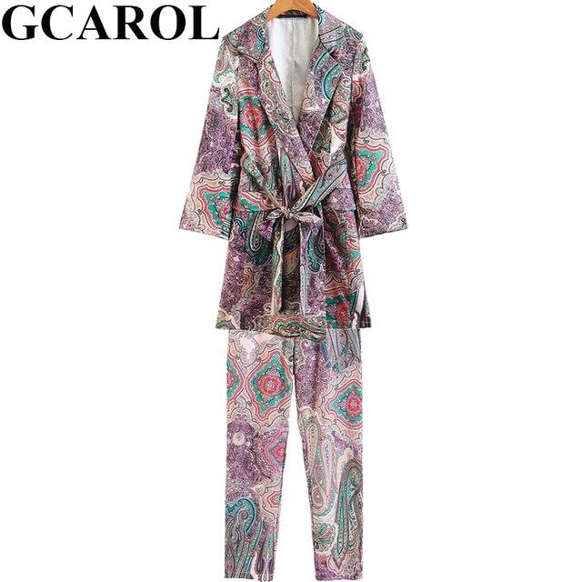 Sistemas Mujeres Floral Gcarol Otoño Impresión Nuevos Blazer Del 5nIwwPx4qY
