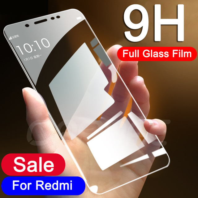 9H Tempered Glass on the For Xiaomi Redmi 5 Plus 5A S2 4 4X 4A Redmi Note 4 4X 5 5A Pro Screen Protector Protective Film Glass