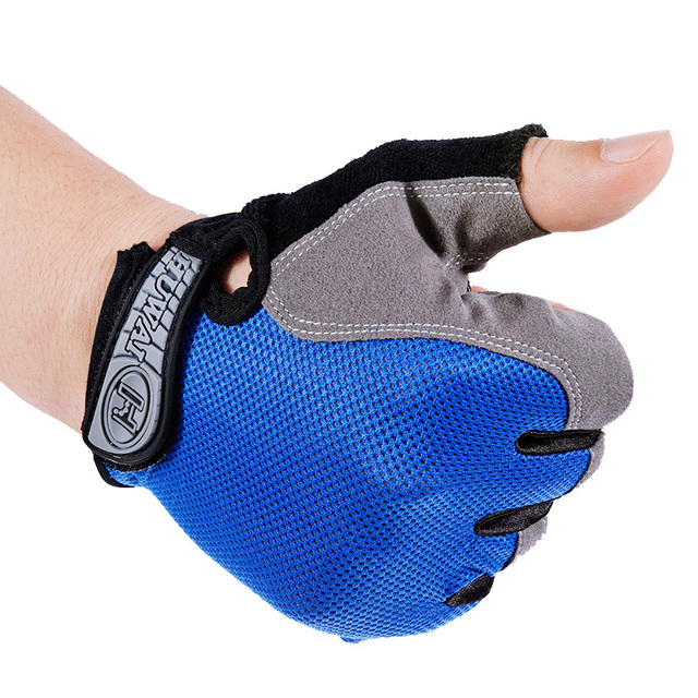 Anti-slip Unisex Half Finger Breathable GEL Cycling Gloves