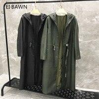 2019 Новое поступление натуральная кожа куртка Drawstring натуральная кожа куртка женская плюс размер с капюшоном из овечьей кожи пальто для женщ...