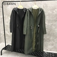 2019 New Arrival Real Leather Jacket Drawstring Genuine Women Plus Size Hooded Lambskin Coat for
