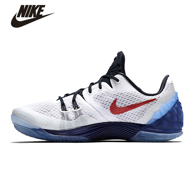 f9a0874a118 ... Nike Zoom Kobe Venomenon 5 EP Mens Basketball Shoes Original Nike shoes  Flywire Technology 815757 Mens Nike Grey ...