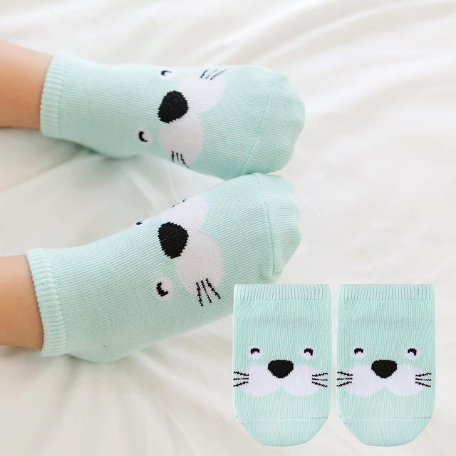 Cute Cotton Baby Socks