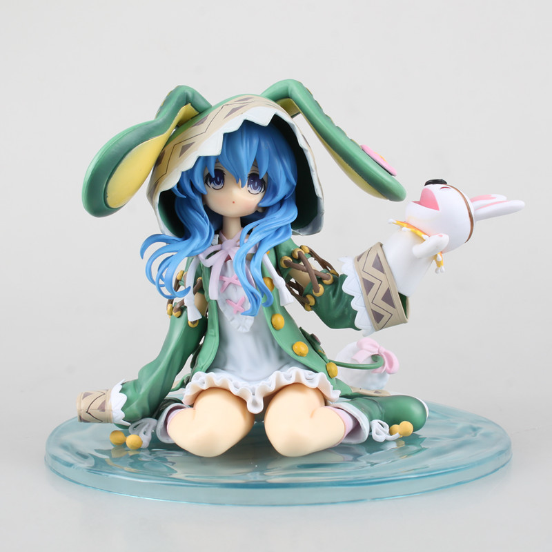 Anime Date A Live Hermit Yoshino 1/8 scale painted PVC Action Figure Collectible Model Toy Doll 15cm KT1805 j g chen anime date a live tokisaki kurumi school uniform ver 1 8 scale pvc action figure collectible model toy doll 16cm