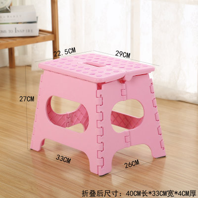 2019 Modern 27CM Child Foladable stool  Stools,cute Fashion Cartoon Stool