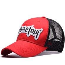 Justin Bieber Baseball Cap Men Women Hip Hop Mesh Hat Trucker Summer