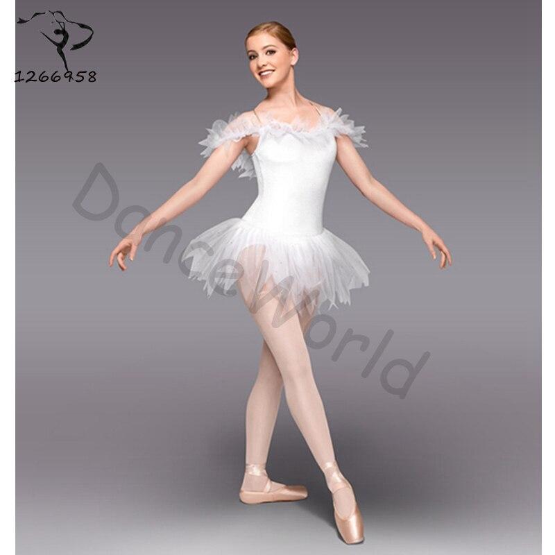 2017. gada profesionālā baleta Tutus konkurss Gulbju ezera kostīmi Bolsa De Performance / apmācība Deju kleitas