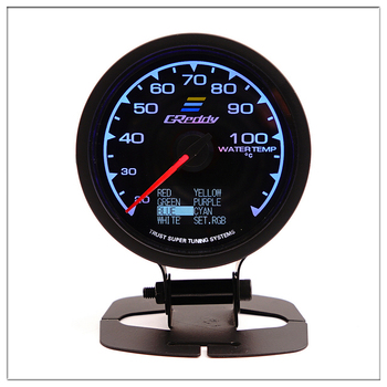 Greddi Water Temperature 60mm For BMW E 30 34 36 38 39 46 53 60 82 83 87 90 92 F11 20 Mini Marine Water Temp Gauge Round pointer image