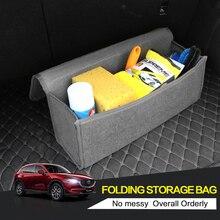 Автомобиль чувствовал коробка для хранения багажник мешок автомобиль Tool Box Многофункциональный инструмент органайзер Bag ковер складной автомобили аксессуары для интерьера